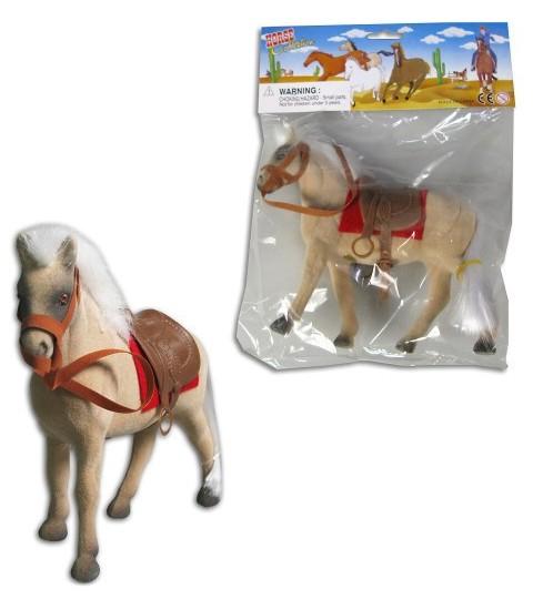 Kůň (koník) se sedlem 3 barvy