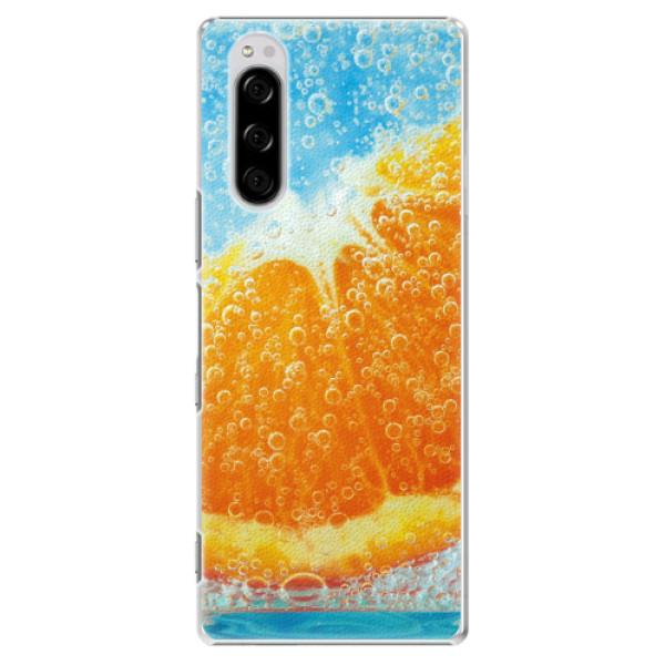 Plastové pouzdro iSaprio - Orange Water - Sony Xperia 5