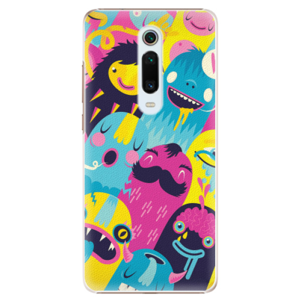 Plastové pouzdro iSaprio - Monsters - Xiaomi Mi 9T Pro
