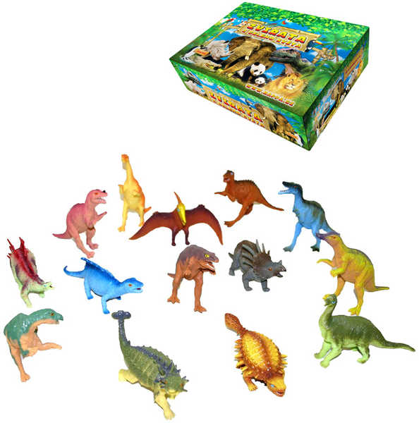Dinosaurus Prehistorická figurka zvířat 15-18 cm