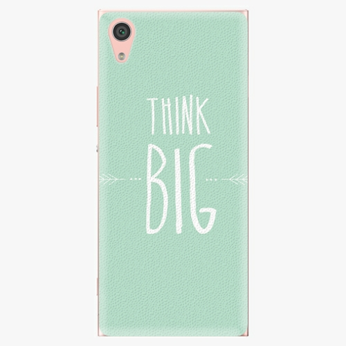 Plastový kryt iSaprio - Think Big - Sony Xperia XA1