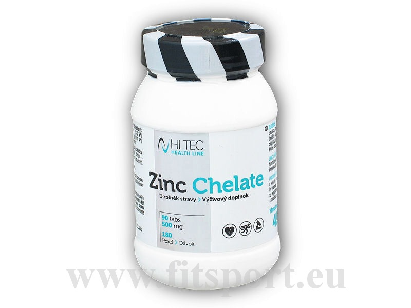 HL Zinc Chelate 500mg 90 tablet
