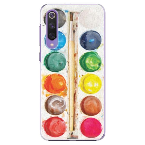 Plastové pouzdro iSaprio - Watercolors - Xiaomi Mi 9 SE