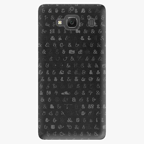 Plastový kryt iSaprio - Ampersand 01 - Xiaomi Redmi 2