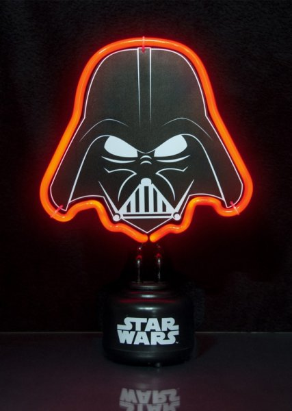 Malé neonové světlo Star Wars - Darth Vader