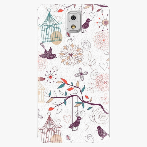 Plastový kryt iSaprio - Birds - Samsung Galaxy Note 3