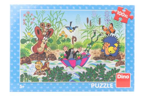 Puzzle Krtečkova plavba 100XL
