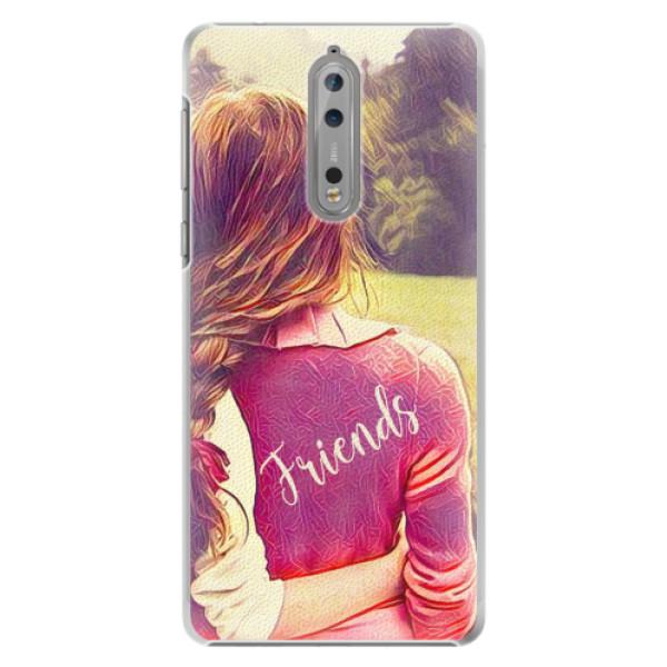 Plastové pouzdro iSaprio - BF Friends - Nokia 8