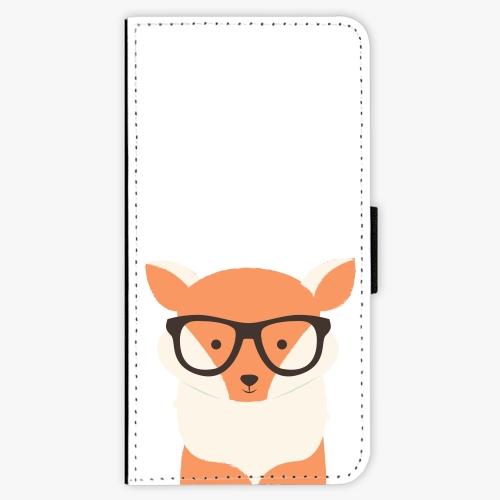 Flipové pouzdro iSaprio - Orange Fox - Samsung Galaxy S9 Plus