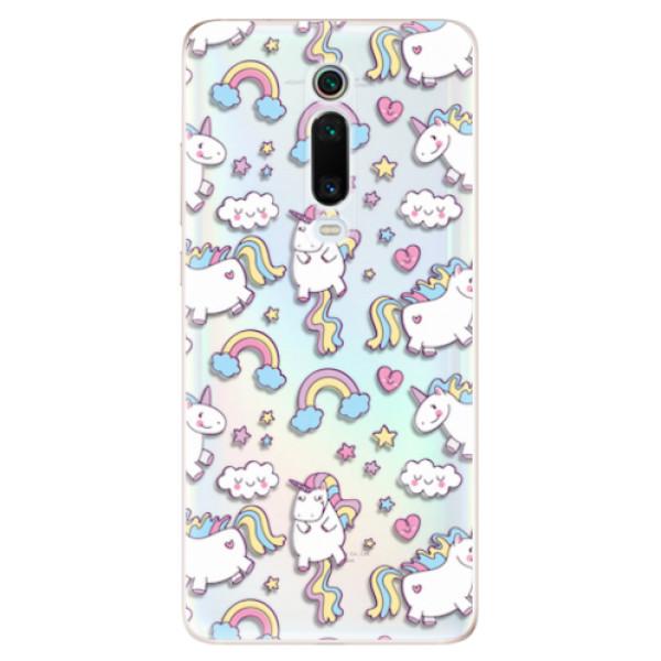 Odolné silikonové pouzdro iSaprio - Unicorn pattern 02 - Xiaomi Mi 9T Pro
