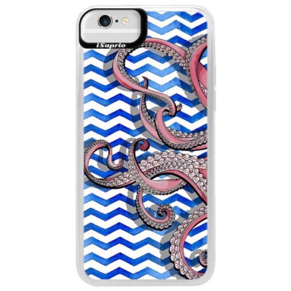 Neonové pouzdro Blue iSaprio - Octopus - iPhone 6/6S