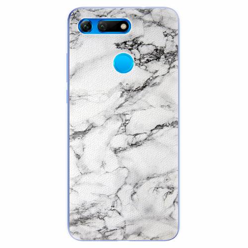 Silikonové pouzdro iSaprio - White Marble 01 - Huawei Honor View 20