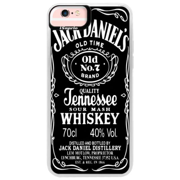 Neonové pouzdro Pink iSaprio - Jack Daniels - iPhone 6 Plus/6S Plus