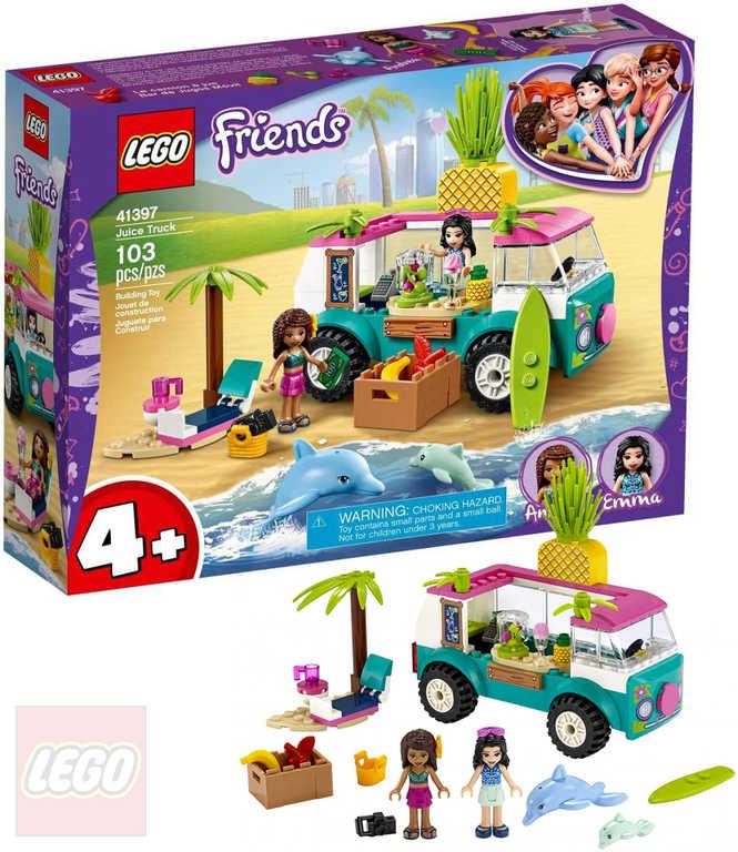 LEGO FRIENDS Pojízdný džusový bar 41397 STAVEBNICE