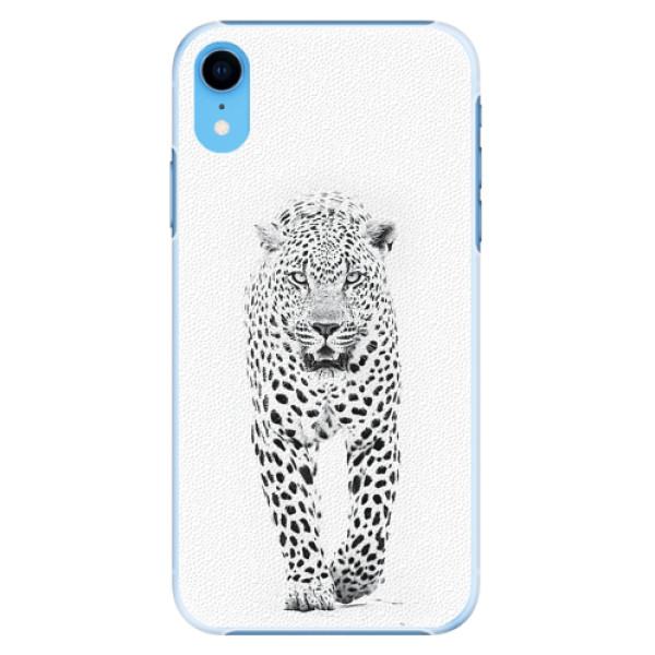 Plastové pouzdro iSaprio - White Jaguar - iPhone XR