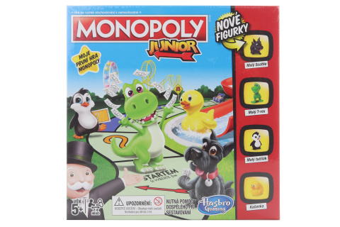 Monopoly Junior CZ TV 1.3.- 30.6.2020
