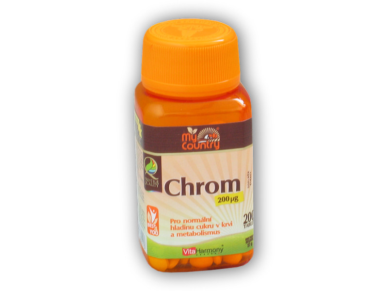 My Country Chrom 200 mcg 200 tablet