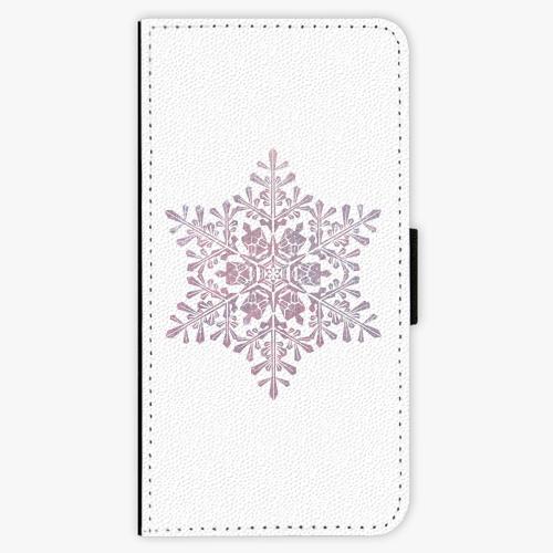 Flipové pouzdro iSaprio - Snow Flake - iPhone 7