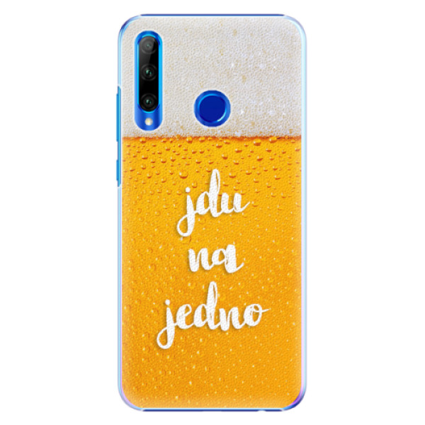Plastové pouzdro iSaprio - Jdu na jedno - Huawei Honor 20 Lite