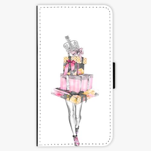 Flipové pouzdro iSaprio - Queen of Shopping - Samsung Galaxy J7 2017