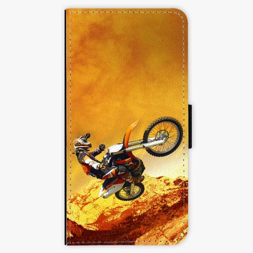 Flipové pouzdro iSaprio - Motocross - iPhone 7 Plus