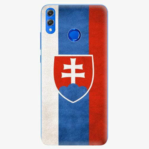 Silikonové pouzdro iSaprio - Slovakia Flag - Huawei Honor 8X