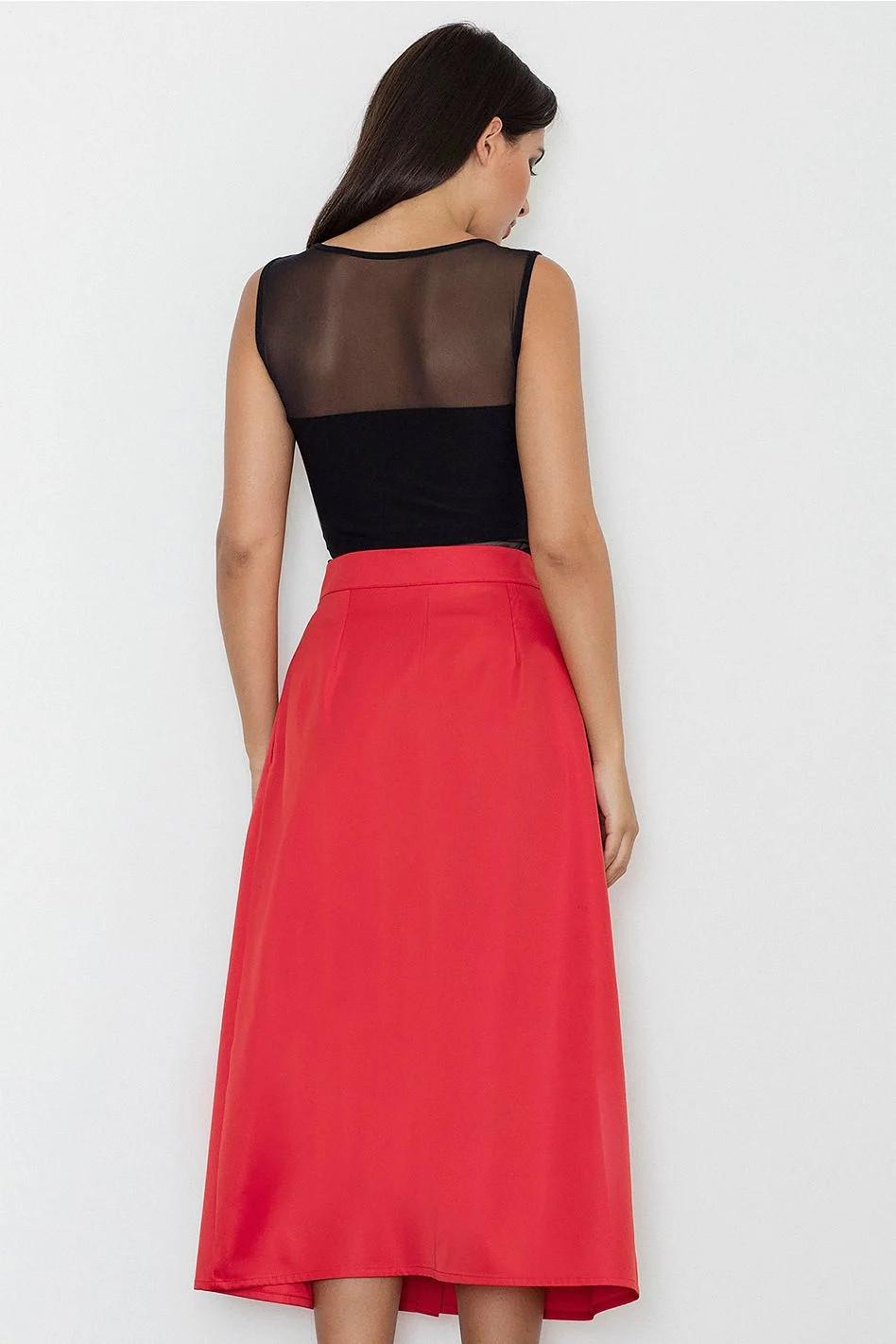 Dámská sukně M554 - Figl - Tmavě modrá/L-40