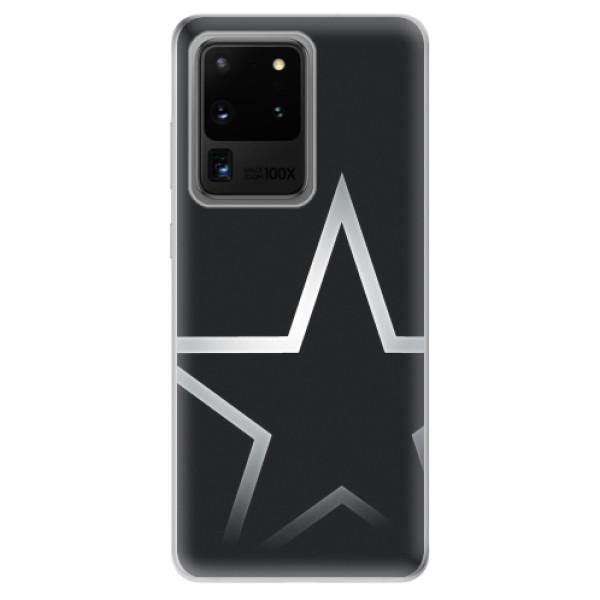 Odolné silikonové pouzdro iSaprio - Star - Samsung Galaxy S20 Ultra