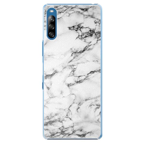Plastové pouzdro iSaprio - White Marble 01 - Sony Xperia L4