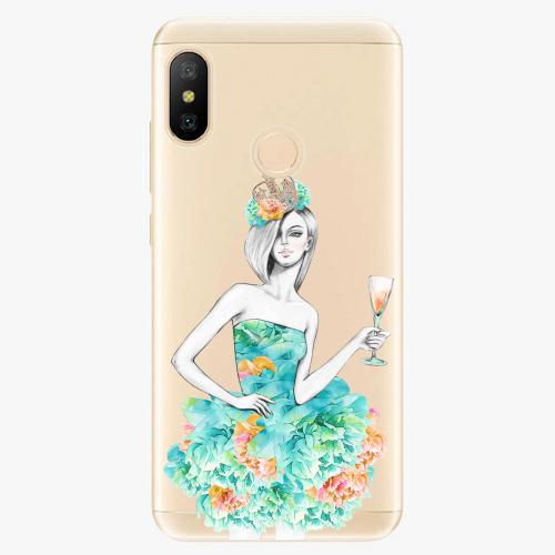 Silikonové pouzdro iSaprio - Queen of Parties - Xiaomi Mi A2 Lite