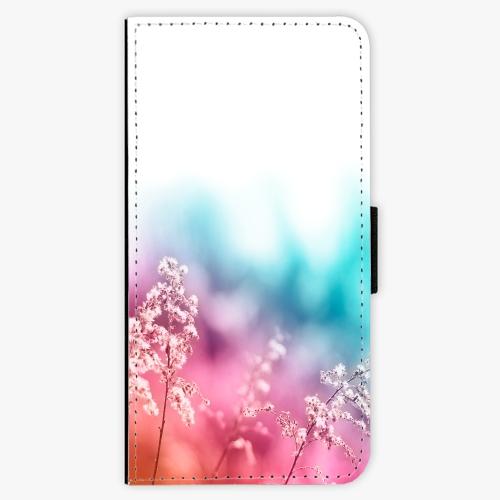 Flipové pouzdro iSaprio - Rainbow Grass - Huawei Honor 9 Lite