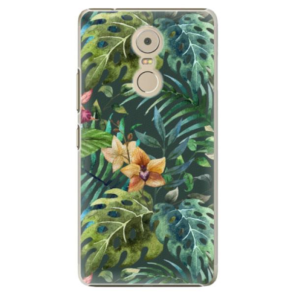 Plastové pouzdro iSaprio - Tropical Green 02 - Lenovo K6 Note