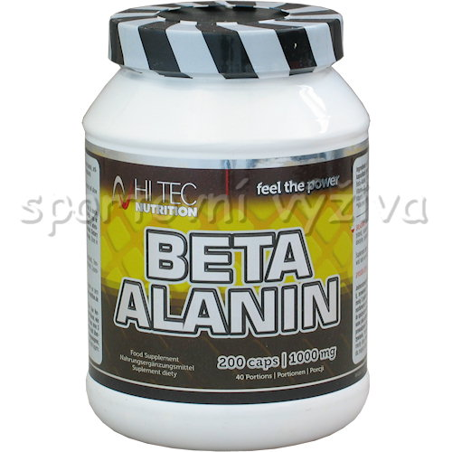 Beta Alanin 200 kapslí