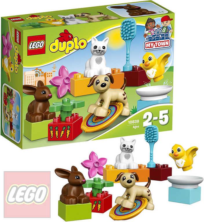 LEGO DUPLO Domácí mazlíčci 10838 STAVEBNICE
