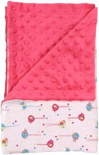 Mamatti Dětská deka, dečka Bird 80x90 - MINKY, bavlna