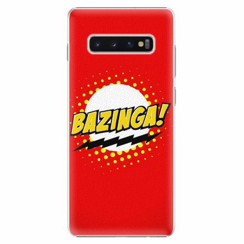 Plastový kryt iSaprio - Bazinga 01 - Samsung Galaxy S10+