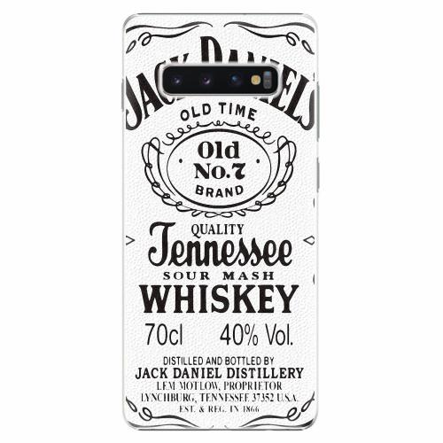 Plastový kryt iSaprio - Jack White - Samsung Galaxy S10+