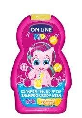 Kids 2v1 šampón a sprchový gel NEW Limonade 250 ml