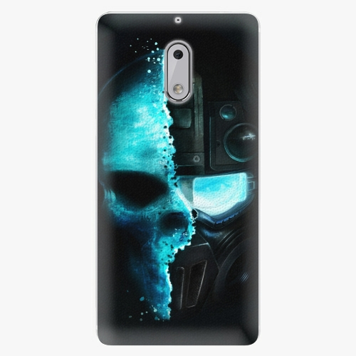 Plastový kryt iSaprio - Roboskull - Nokia 6
