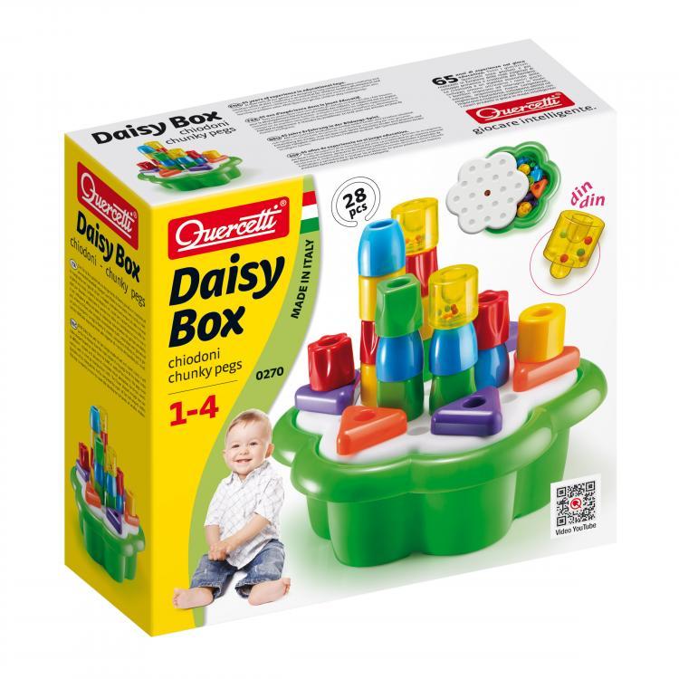 Quercetti Daisy Box Chiodoni 28 ks 0270
