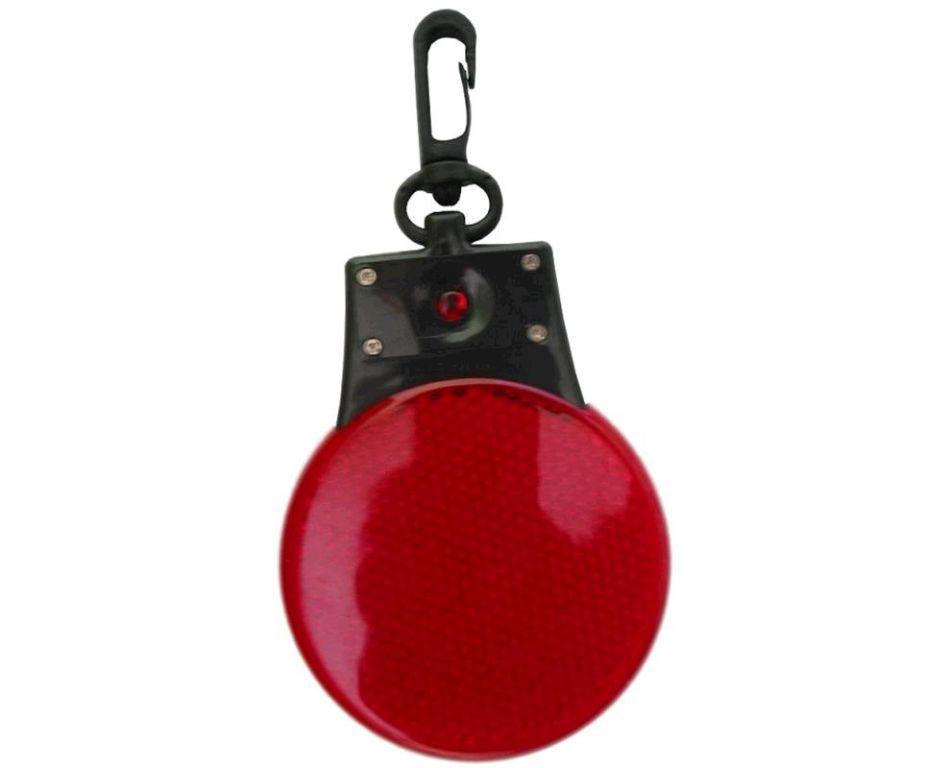 Reflexní LED blikačka červená