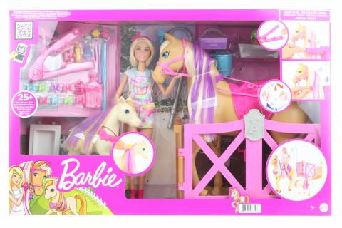 Barbie Rozkošný koník s doplňky GXV77 TV 1.10.-31.12.2021