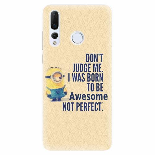 Silikonové pouzdro iSaprio - Be Awesome - Huawei Nova 4