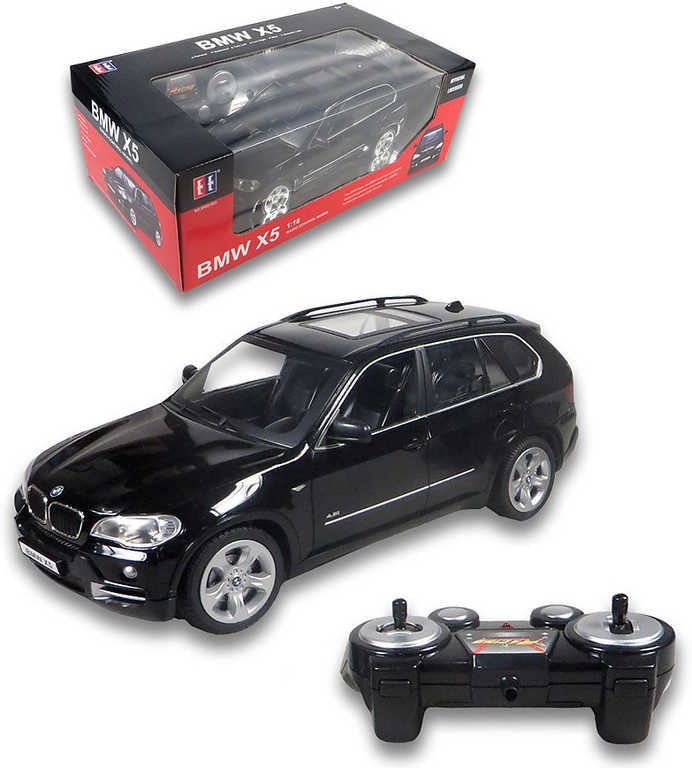 RC Auto BMW X5 osobní vůz 1:18 na vysílačku 27Mhz na baterie Světlo 2 barvy