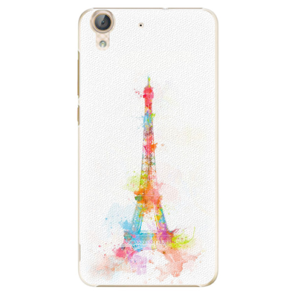 Plastové pouzdro iSaprio - Eiffel Tower - Huawei Y6 II