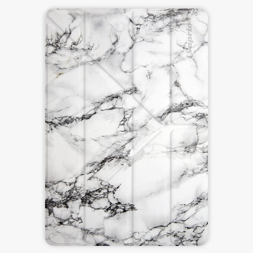 Pouzdro iSaprio Smart Cover - White Marble - iPad Air