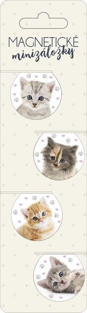 Magnetické minizáložky - Minizáložky - Koťátka