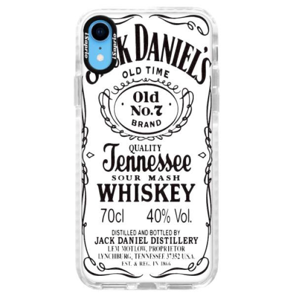 Silikonové pouzdro Bumper iSaprio - Jack White - iPhone XR