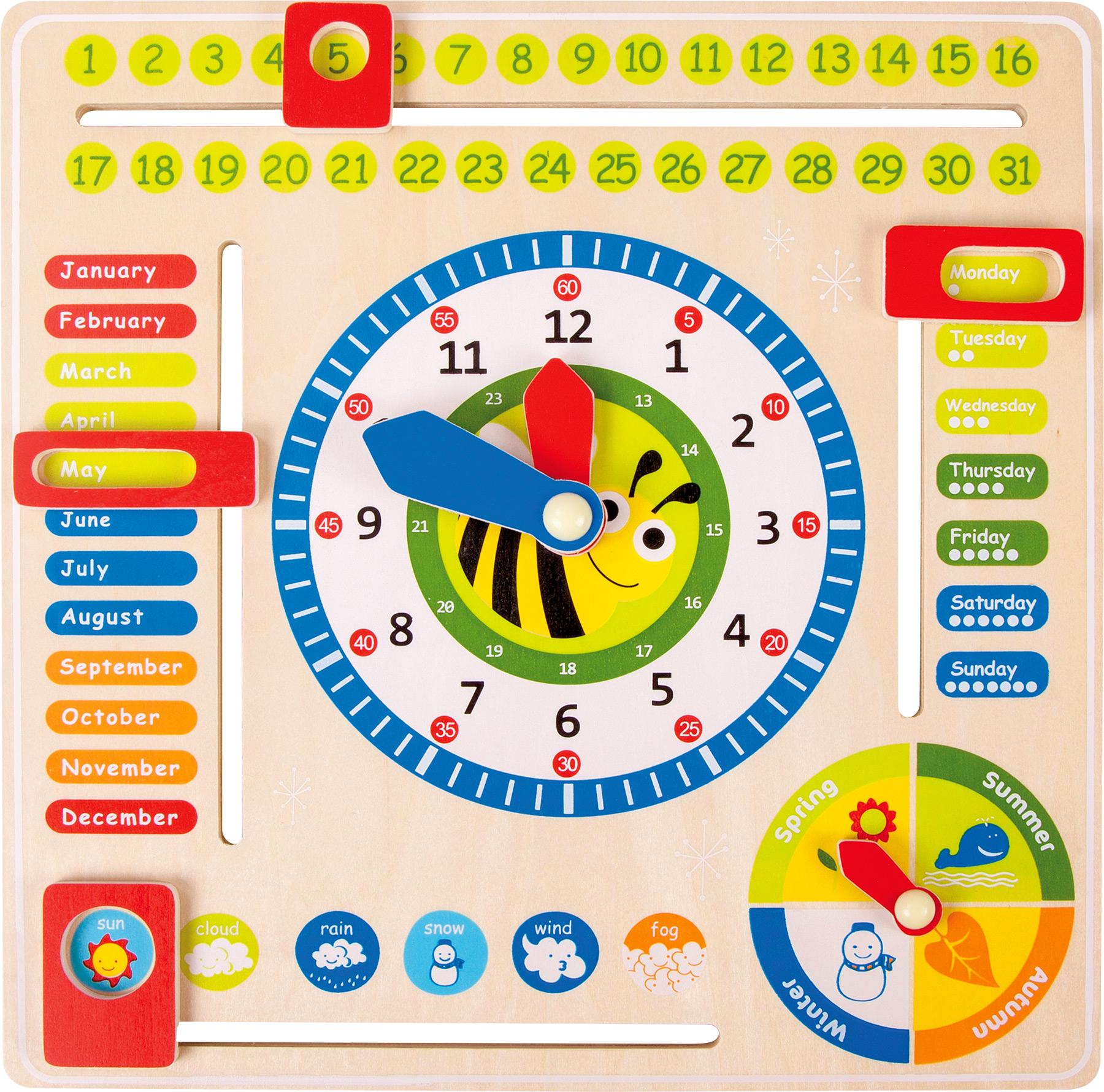Small Foot Didaktický kalendář včelička