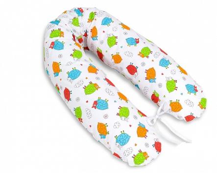 Mamo Tato Kojící polštář - relaxační poduška Multi Barevné ovečky